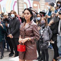 Georgina Rodríguez en la Paris Fashion Week 2020