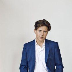 Christian de Dinamarca en un posado por su 15 cumpleaños
