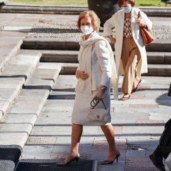 La Reina Sofía en Oviedo para los Premios Princesa de Asturias 2020