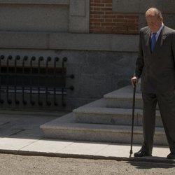 El Rey Juan Carlos en La Zarzuela