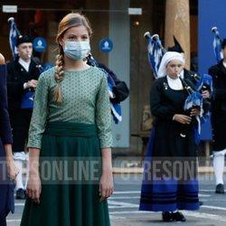 La Infanta Sofía en los Premios Princesa de Asturias 2020