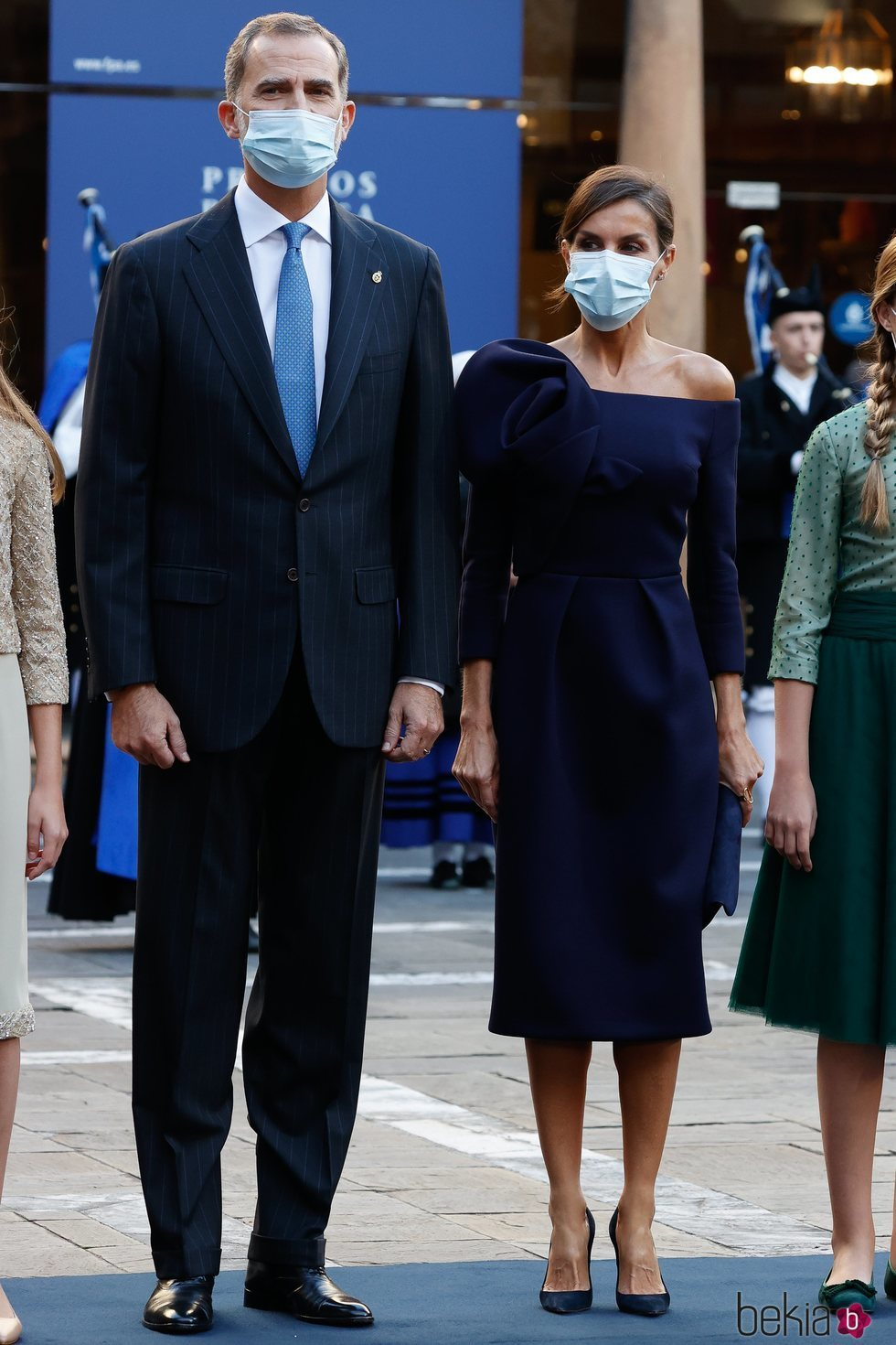 Los Reyes Felipe y Letizia en los Premios Princesa de Asturias 2020