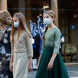 La Princesa Leonor y la Infanta Sofía en los Premios Princesa de Asturias 2020