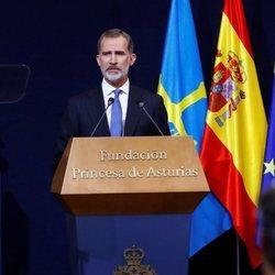 El Rey Felipe en su discurso en los Premios Princesa de Asturias 2020