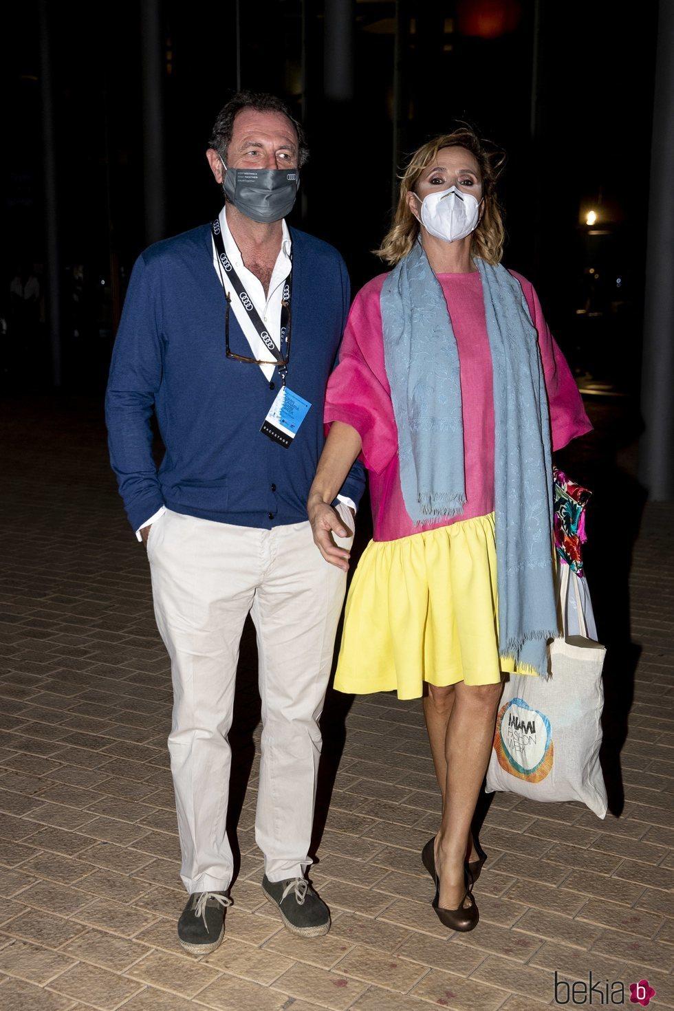 Ágatha Ruiz de la Prada y Luis Gasset en la Gran Canaria Swim Week by Moda Cálida 2020