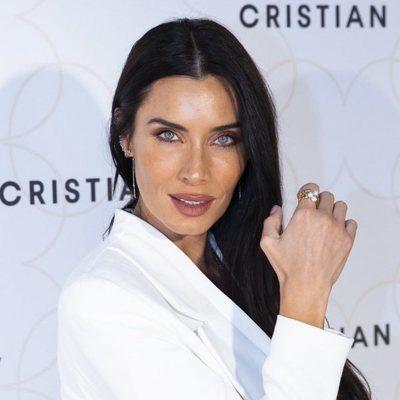 Pilar Rubio en un evento de belleza de Cristian Lay