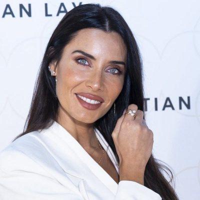 Pilar Rubio en un evento de Cristian Lay