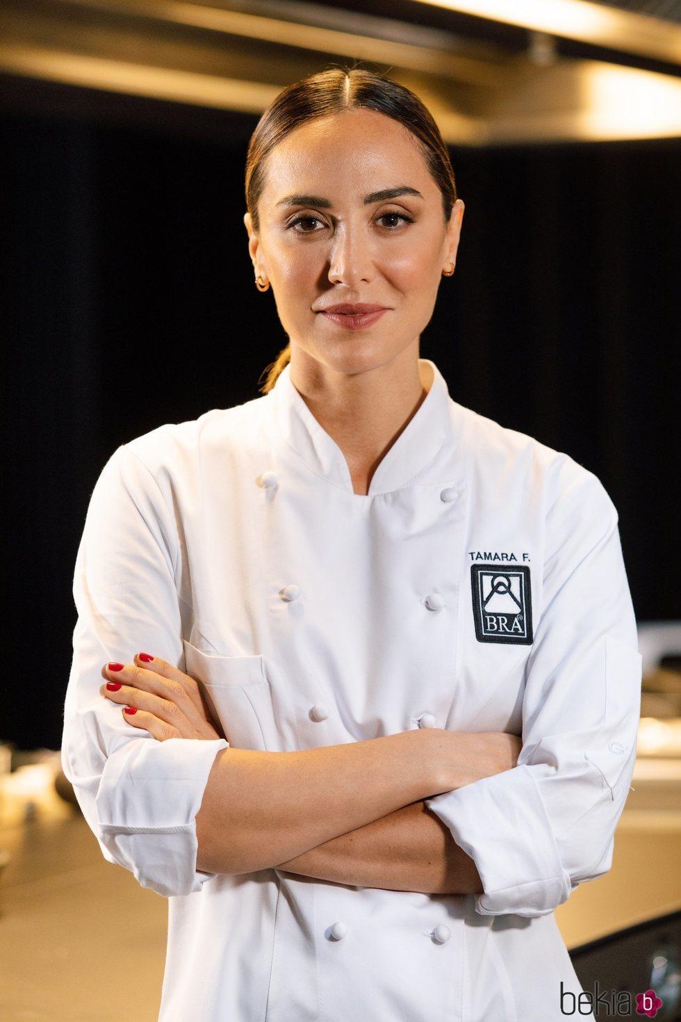 Tamara Falcó en un show cooking