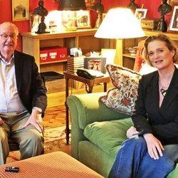 Alberto de Bélgica y Delphine Boël