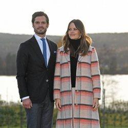 Carlos Felipe y Sofia de Suecia en Värmland