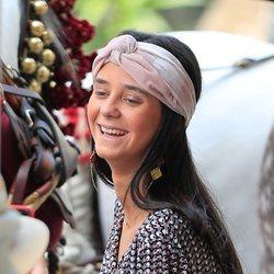 Victoria Federica muy sonriente en Sevilla