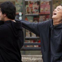 Victoria Federica ríe divertida con Jorge Bárcenas