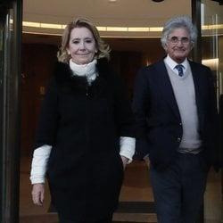 Esperanza Aguirre y Fernando Ramírez de Haro