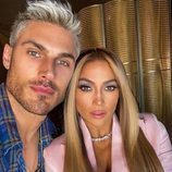 Chris Appleton con Jennifer Lopez