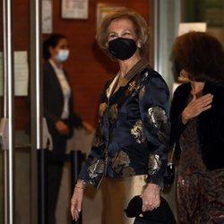 La Reina Sofía acude a un concierto benéfico en Madrid