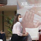 La Reina Letizia en la XII Convocatoria de Proyectos Sociales del Banco Santander