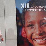 La Reina Letizia presidiendo la XII Convocatoria de Proyectos Sociales del Banco Santander