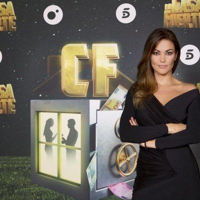 Lara Álvarez en la presentación de 'La casa fuerte 2'