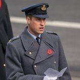 El Príncipe Guillermo de Inglaterra el Día del Recuerdo 2020