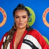 Karol G en la alfombra roja de los MTV EMA 2020