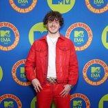 Jack Harlow en la alfombra roja de los MTV EMA 2020