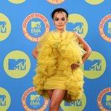 Rita Ora en la alfombra roja de los MTV EMA 2020