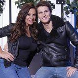 Sonia Monroy y Juan Diego, concursantes de 'La casa fuerte 2'
