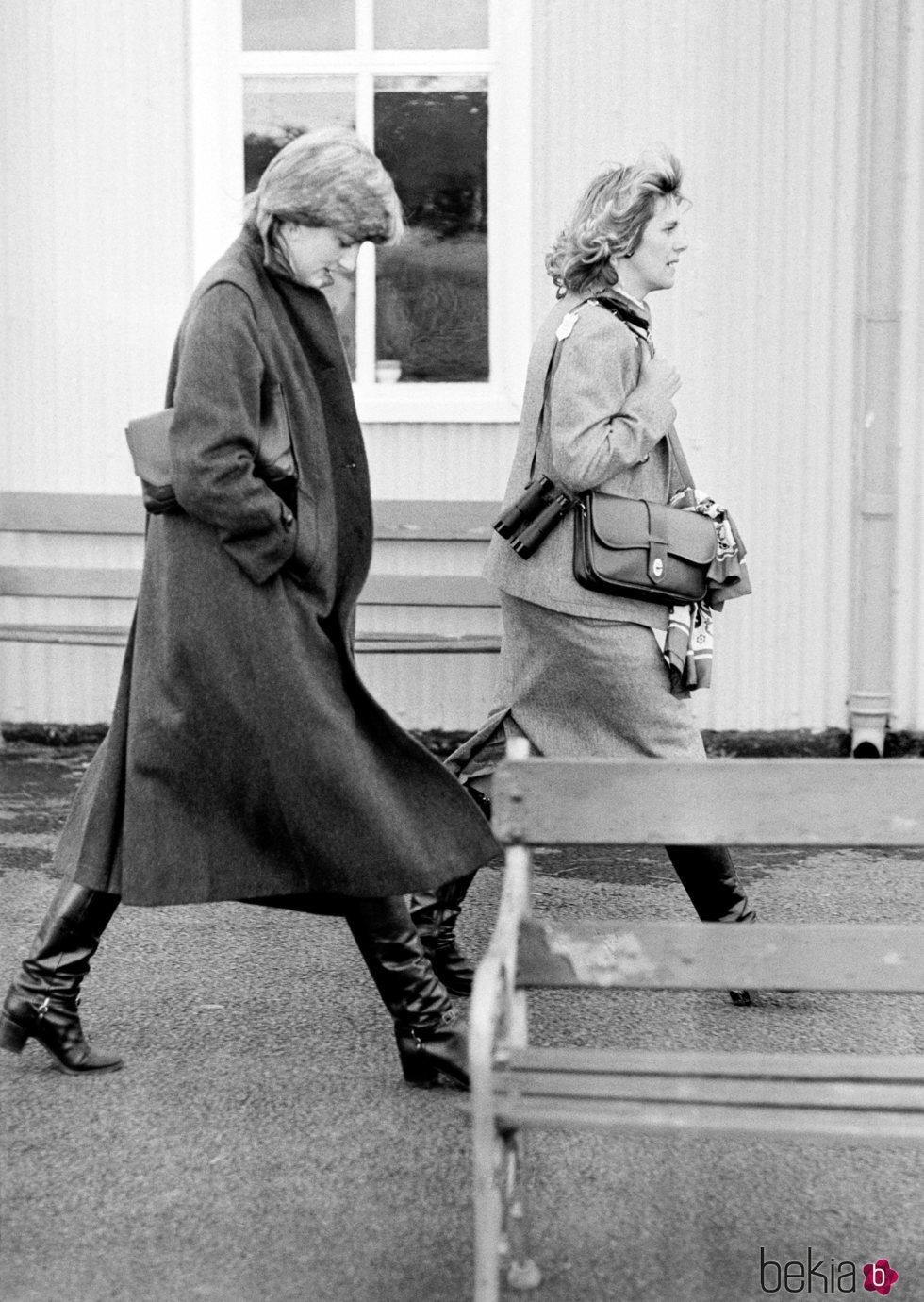 Lady Di y Camilla Parker Bowles