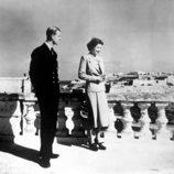 La Reina Isabel y el Duque de Edimburgo en Malta en 1949