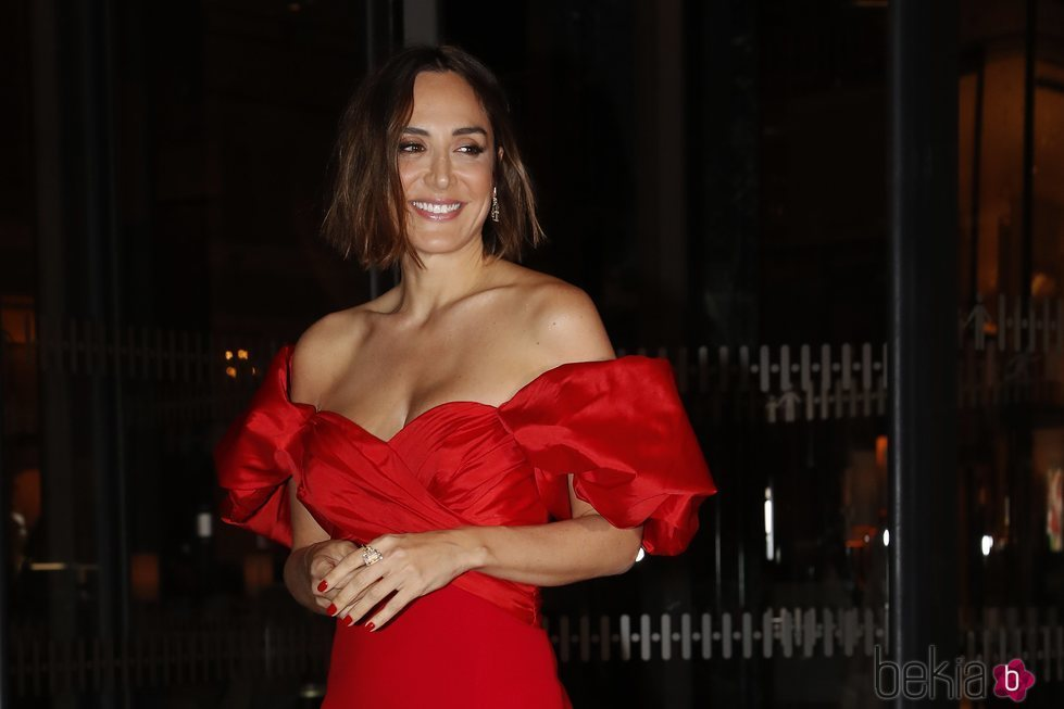 Tamara Falcó, espectacular llegando al hotel Four Seasons de Madrid