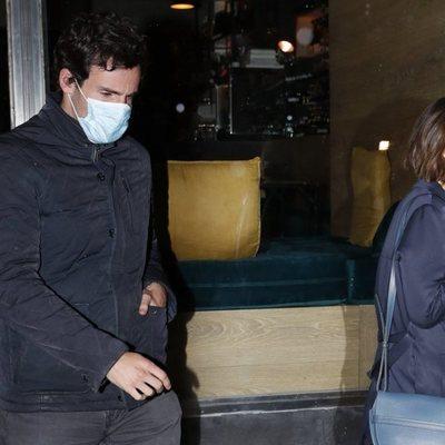Tamara Falcó con Íñigo Onieva tras salir de un restaurante de Madrid