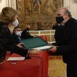 La Reina Sofía entrega a Raúl Zurita el Premio Reina Sofía de Poesía Iberoamericana