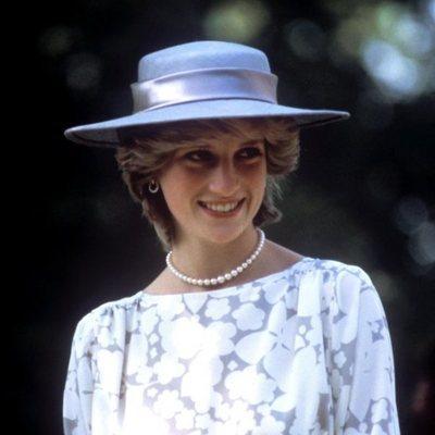 Lady Di durante una visita oficial a Ottawa, Canada
