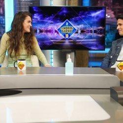 Amaia Romero y Alizzz en 'El Hormiguero'