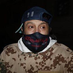 Rafael Amargo después de haber sido puesto en libertad con cargos