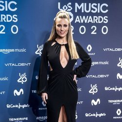 Edurne en la entrega de Los 40 Music Awards 2020