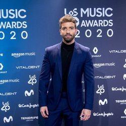 Pablo Alborán en la entrega de Los 40 Music Awards 2020