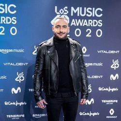 Dj Nano en la entrega de Los 40 Music Awards 2020