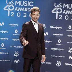 David Bisbal en la entrega de Los 40 Music Awards 2020