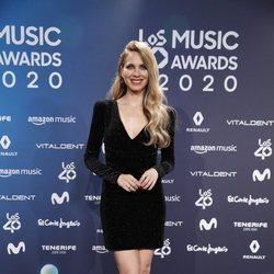 Vanesa Romero en la entrega de Los 40 Music Awards 2020