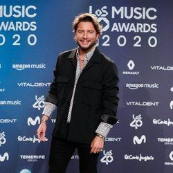 Manuel Carrasco en la entrega de Los 40 Music Awards 2020