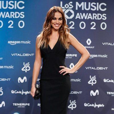 Lara Álvarez en la entrega de Los 40 Music Awards 2020