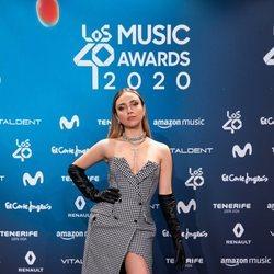 Ana Mena en la entrega de Los 40 Music Awards 2020