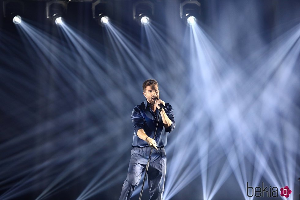 Pablo Alborán en la gala de Los 40 Music Awards 2020