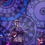 Camilo en su actuación en Los 40 Music Awards 2020