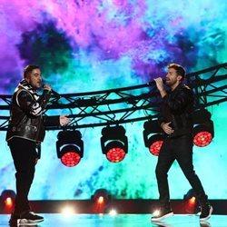 Beret y Pablo Alborán cantando 'Sueño' en Los 40 Music Awards 2020