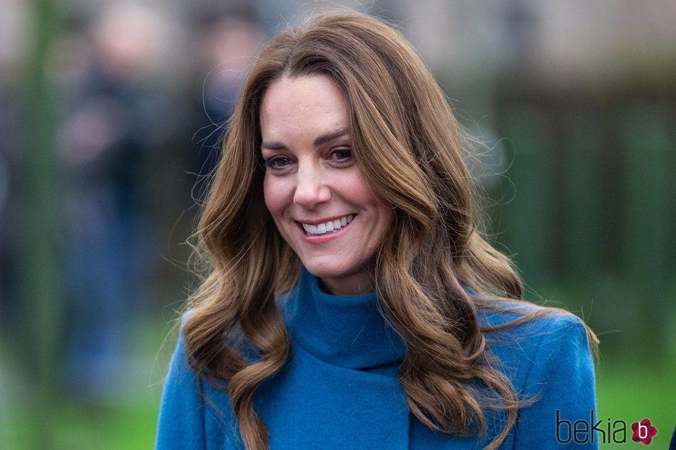 Kate Middleton en su primer Royal Train Tour