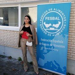 Georgina Rodríguez en el Banco de Alimentos de España