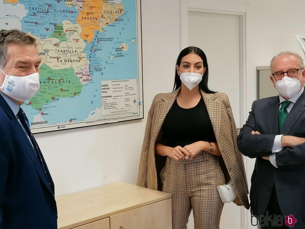 Georgina Rodríguez hace una gran donación al Banco de Alimentos de España