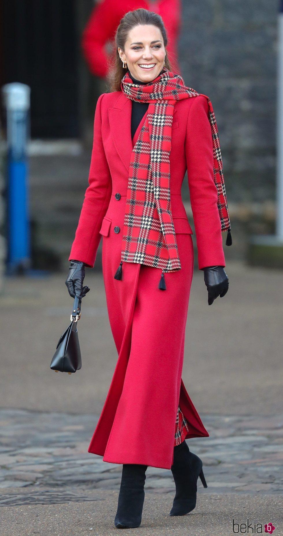 Kate Middleton en Cardiff durante su Royal Train Tour
